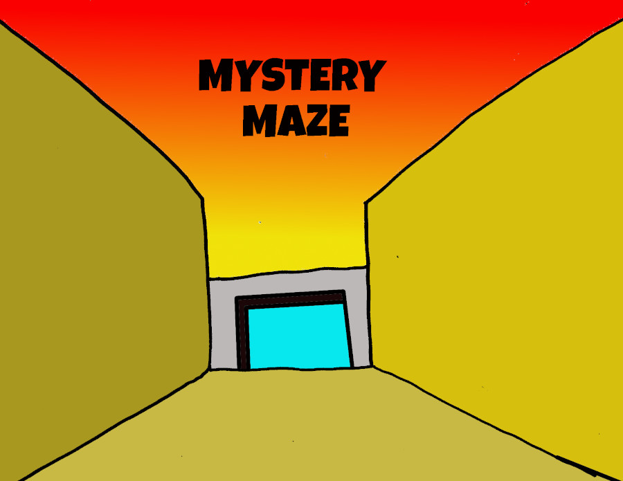 the entrance into the maze of mystery!